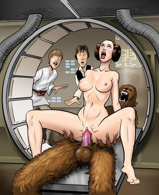 Mature naked star wars