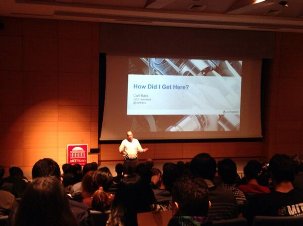 .@carlbass of @autodesk greats the crowd at  #DILS http://t.co/n9Z9rTlrqL