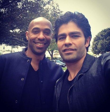 Arsenal legend & NYRB star Thierry Henry pops up on the set of the new Entourage movie [Pictures]