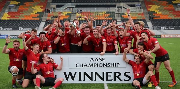 AASE Winners 2014!  Five in row...   Take a bow Hartpury College!!! http://t.co/9uPkVc9pLC