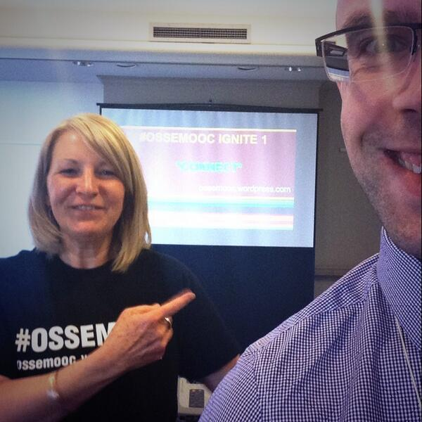 One of my favourite people on the planet, @fryed! Ossem session :) #OTRK12 #OTRK12Selfie #OSSEMOOC http://t.co/Q9hMpnm08W