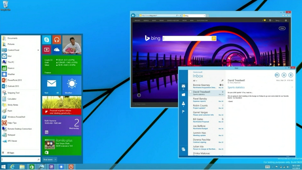 """New and improved start button for #Windows """"There's going to be a lot of happy people out there"""" #bldwin http://t.co/Xt5FXfK7rP"""