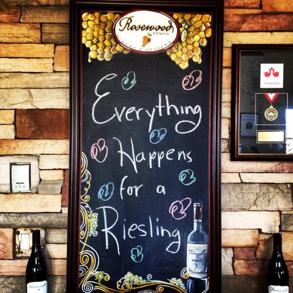Everything happens for a #Riesling. http://t.co/QJcyHK1xxd