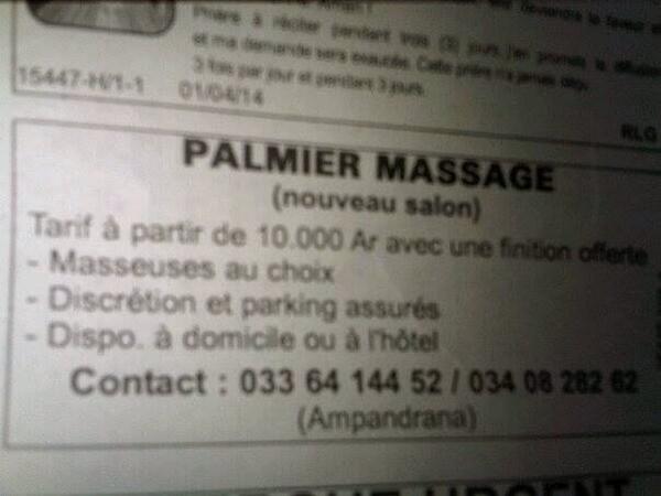 Massage Avec Finitions