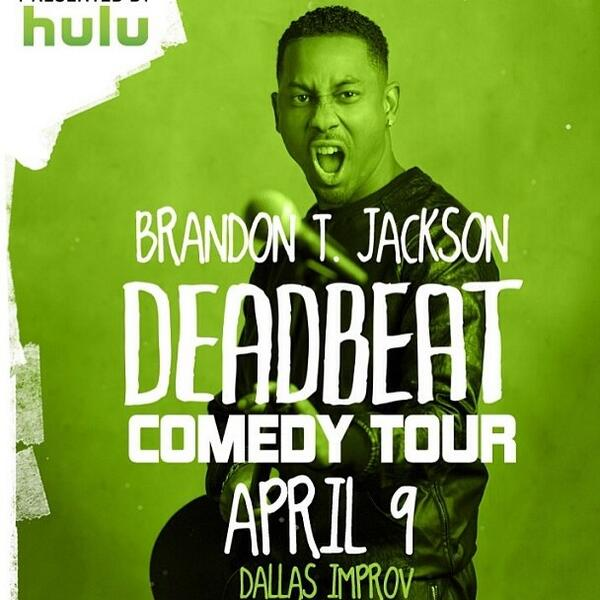 Check out @brandontjackson on April 9th at #DallasImprov RT if you will be going! http://t.co/y7qvt06YSu