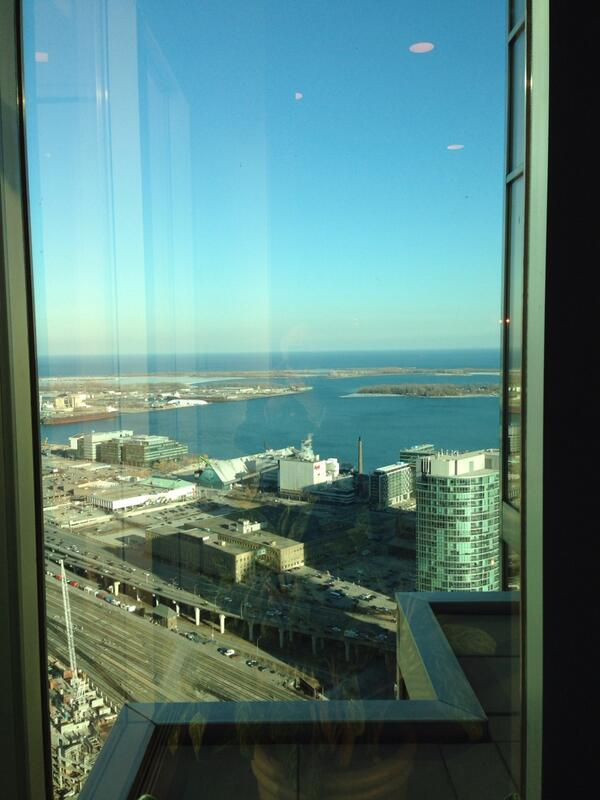 The view from RBC Tower at Goodman Business School Alumni event in Toronto. @Biolinc, #GoodmanSpirit & 200+ Alumni http://t.co/gJYHE5xwd5