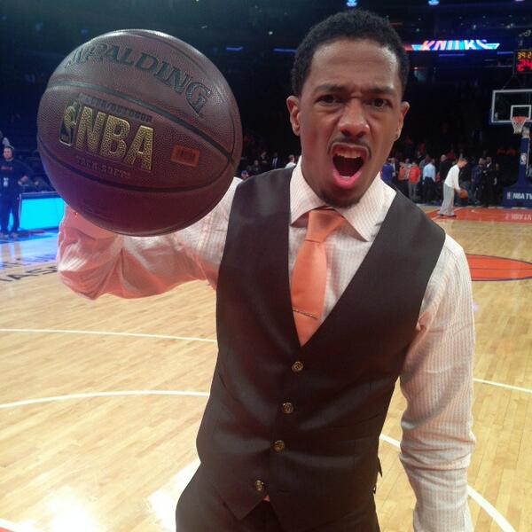 Twitter / nbcagt: Game face on. @NickCannon is