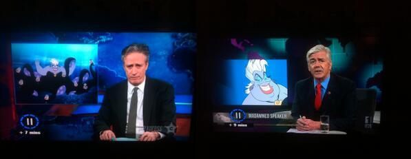 "Hehe... ""Mad As Hell"" and ""The Daily Show"" totally crossed streams last night:  @madashelltv @TheDailyShow http://t.co/RGCGA5v3X7"