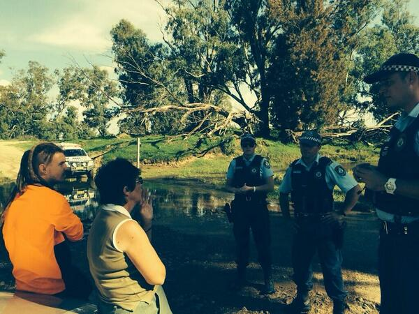 Thumbnail for Did @margokingston1 intimidate police at #leardblockade? @2squig  interview
