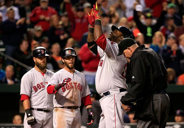 The #RedSox earned their first win of the 2014 season, beating the Baltimore Orioles 6-2. http://t.co/QsMZShcIk8 http://t.co/j3b1YeK7Bg