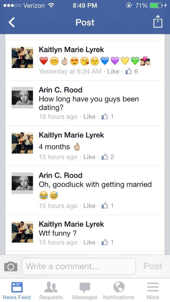 Sophomore guy dating senior girl