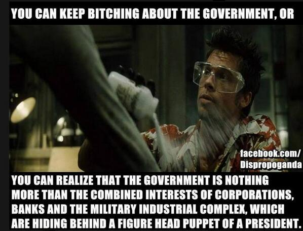 Fight Club had it spot on! http://t.co/SHuo2BinNq