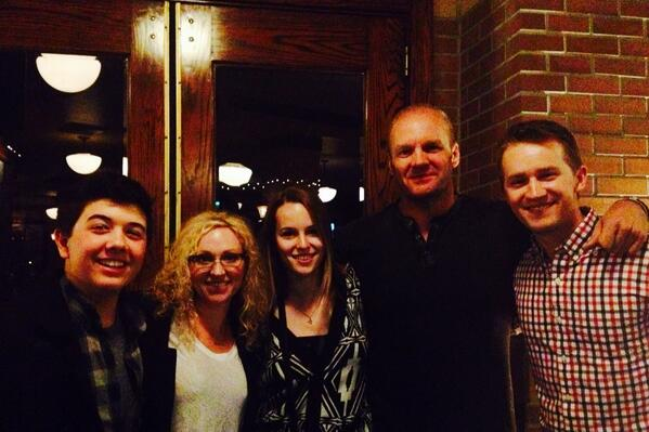 Dinner with the family tonight... @L_A_Baker @bridgitmendler @jason_s_dolley @bradley_s_perry http://t.co/qqOyWyAfYY