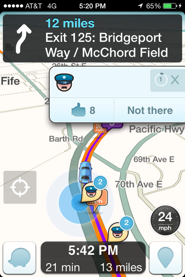 waze com • View topic - Reporting