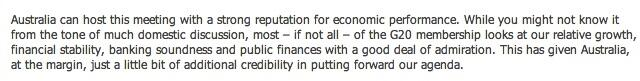 Twitter / BernardKeane: Damning words from RBA governor ...