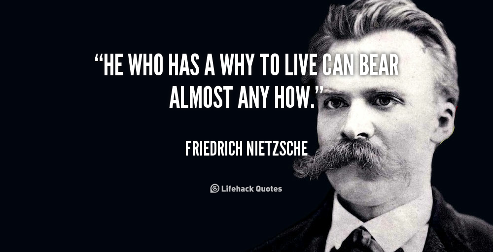 Twitter / zaibatsu: He who has a 'WHY' to live, ...