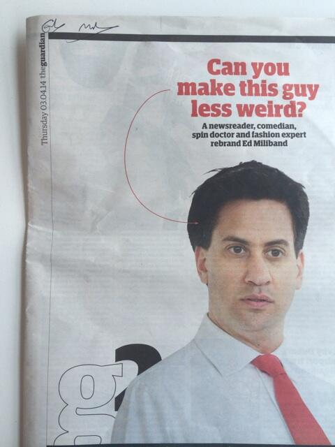Ed Miliband was in the building. He was game enough to sign our cover. http://t.co/wdv6qvTsxv http://t.co/8xEIe2Ss5R