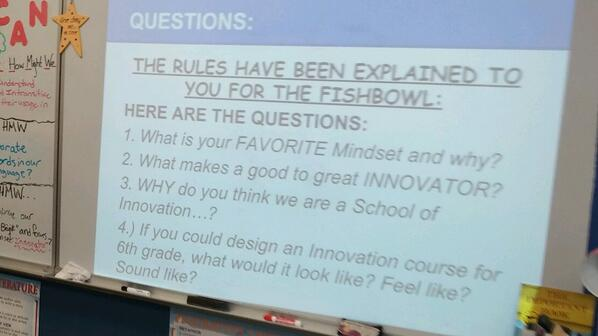 Fishbowl Innovation questions! Can u answer them all? #Mvmiddle http://t.co/8VY4PPm7fs