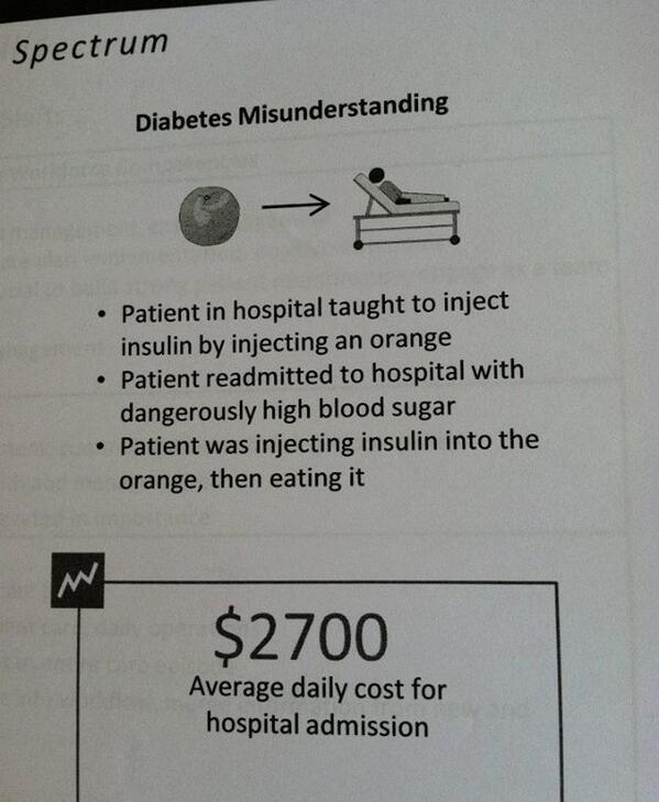 How not to teach your patients to inject. #diabetes #healthcare #fail  http://t.co/Vmt5TLYUaD HatTip @ddiamond