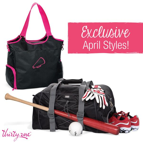 Our All-Pro Tote and Pro Duffle are TWO exclusive April styles! Get either one for $25 when you spend $35 http://t.co/AqzsN0gP1K