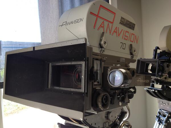 .@refocusedmedia The Super #Panavision 70 camera on display in Woodland Hills today. #2001ASpaceOdyssey http://t.co/HsQhFbpBk5