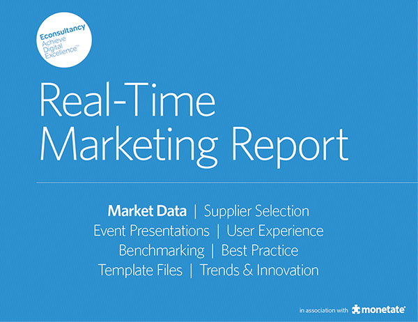 Real-time marketing increases conversion rates by 26%: http://t.co/oqBiwIUOWC But how fast is real-time? #rtm http://t.co/Sy8HL5tsX3