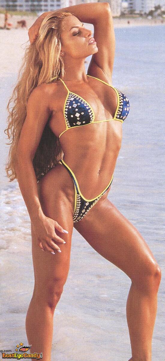trish stratus nude at beach