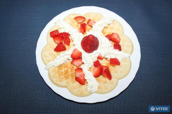 Рецепт вафель в вафельнице с фото