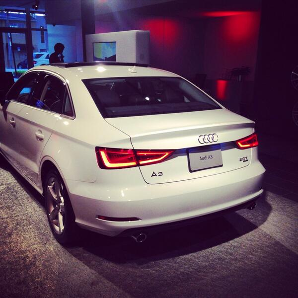 Tonight we're celebrating the all-new @Audi A3 @TheCollectionFL @AudiA305 #AudiA3 #Stayuncompromised http://t.co/SbBa2ylxrR