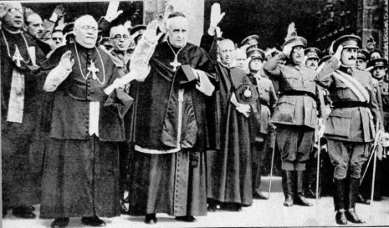 """pancho villa on Twitter: """"#VzlaUnidaContraElTerrorismo asi acturon iglesia catolica con nazis la postura del vaticano http://t.co/3X2xKuo0h1"""""""