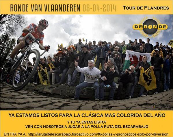 Polla Tour de Flandes - Válida 7/36  La Gran Polla Prodalca BkVkMd9CUAAqFmT