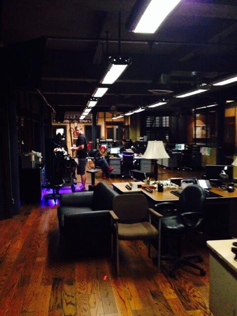 Last day of shooting in the precinct...till next season,12th! (Fingers xed) #castle http://t.co/k2LnPg7KiJ