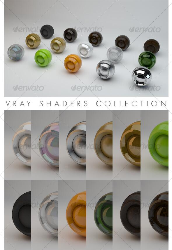 Vray Shaders download