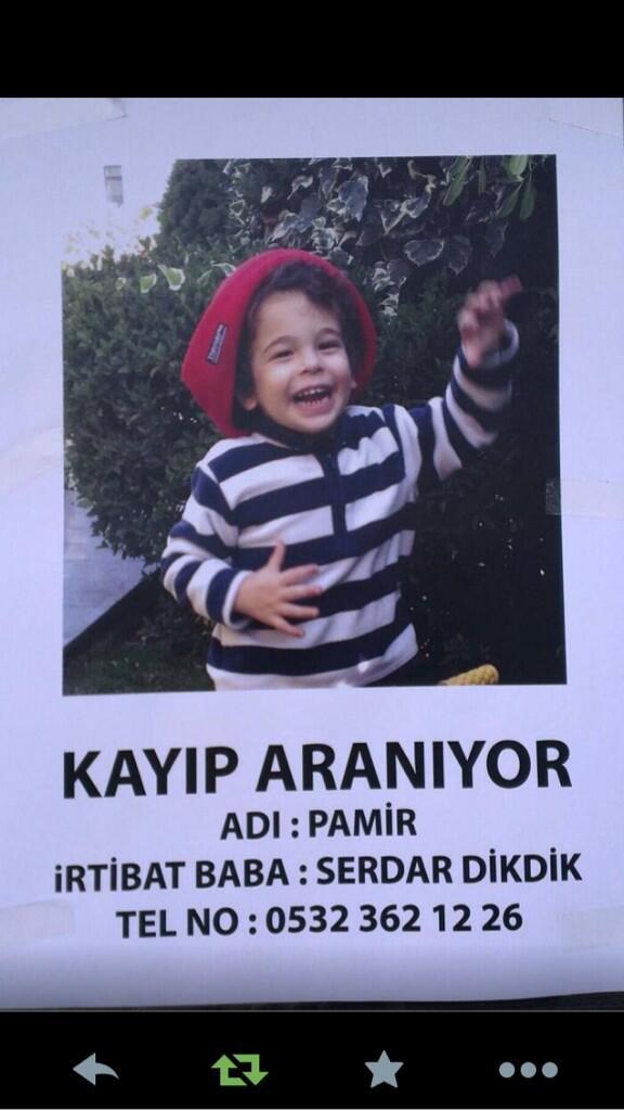 ZEKERİYAKÖY DİKKAT!! Arkadaşlarımız bu güzel çocuğu arıyor ama hava kararıyor rt lütfen..acil http://t.co/4f6uvBx1l5