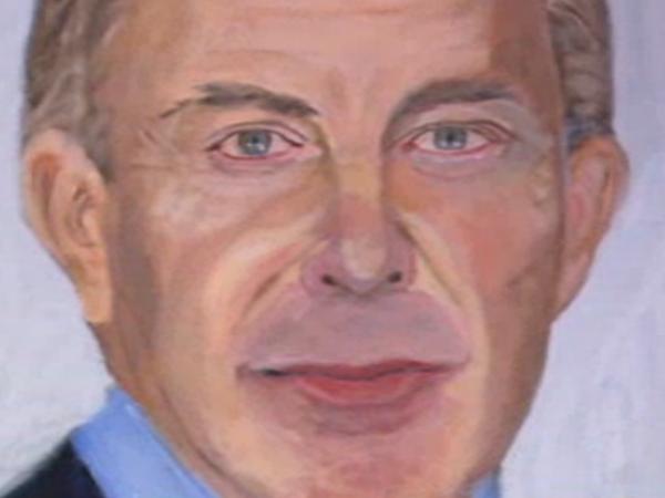 Το πορτραίτο του Τόνι Μπλερ από τον George W. Bush