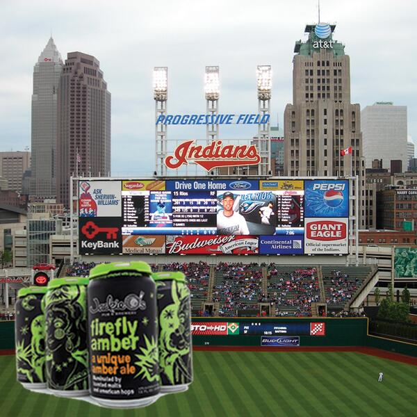 #Firefly Cans are now available at Progressive Field this season - Pick up some #CraftBeer and lets go #TRIBE!!! http://t.co/9CnRDG0iVY