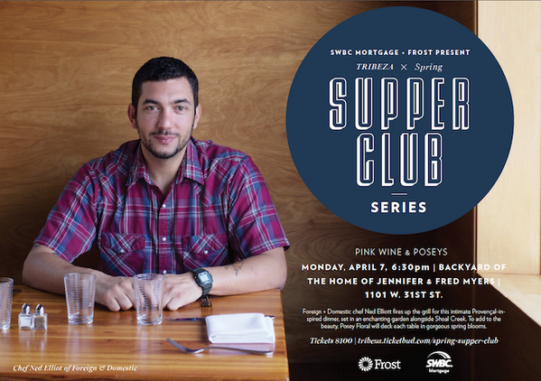 "Win 2 tickets to @TRIBEZA's Supper Club w/@ForeignDomestic!  Retweet our ""save the date"" tweet for a chance to win! http://t.co/qi2PCRp3I6"