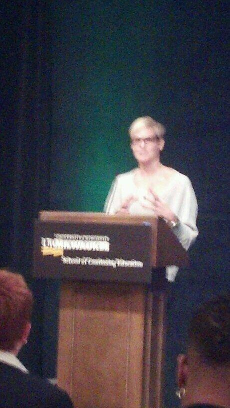 #wmnldrs listening to Dara Torres speak... Inspiring! http://t.co/H5o5qPFOTg