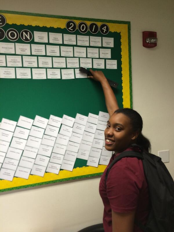 Congratulations Ajaney. Another proud graduate from Valley View http://t.co/uc3tmp1ttV