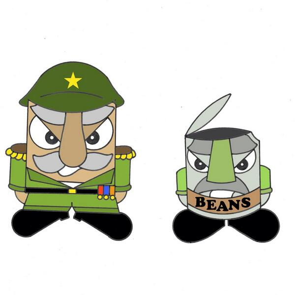 Mr E and Private Beans are working for The Glutants to cause mayhem for the Gluten Fighters. #glutenfree #animation http://t.co/V8G7PR4WfW