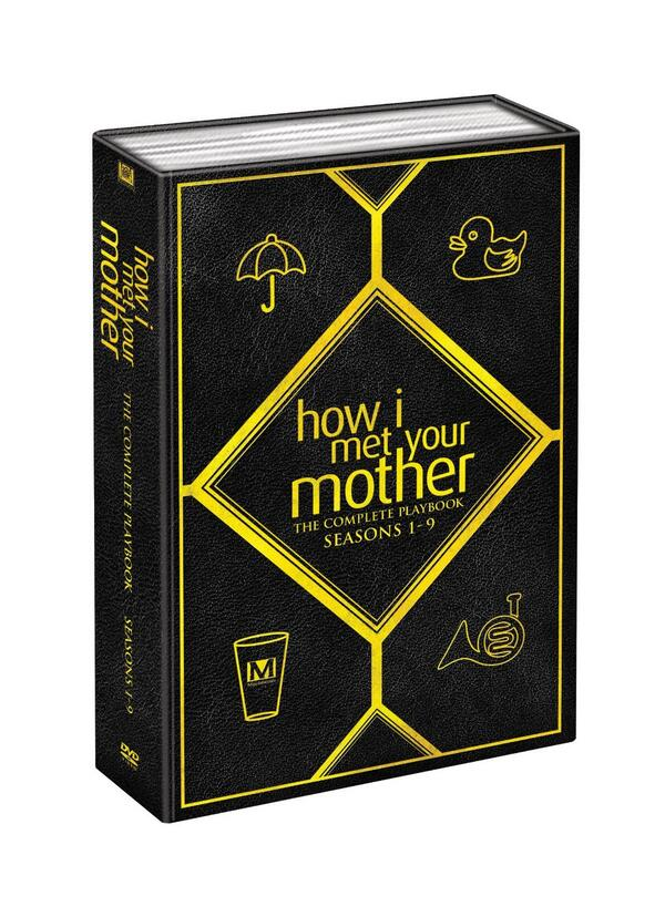 ALL your #HIMYM ??s (even THAT one) answered in Complete Series Box out this fall. It'll look something like this... http://t.co/L4yQFuLJFf