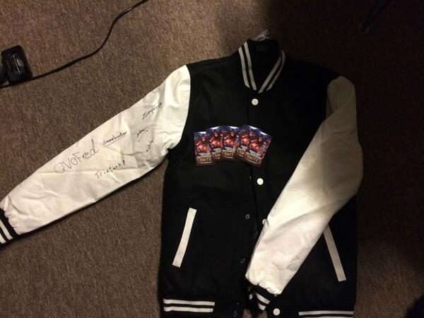 tsm on twitter we are giving away an autographed tsm jacket signed
