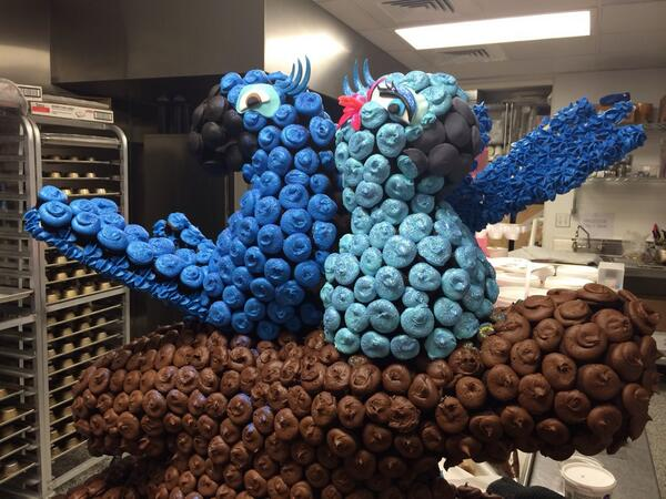 Blue and Jewel! #Rio2 #DCCupcakes http://t.co/Mf0K04bMz1