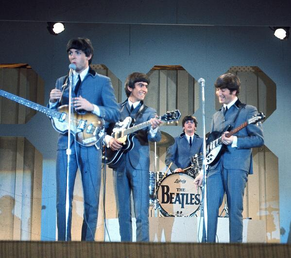Yeah, yeah, yeah: Beatles ruled U.S. music charts 50 years ago this week http://t.co/4340OpOFFi via @examinercom http://t.co/qq1exDxhsg