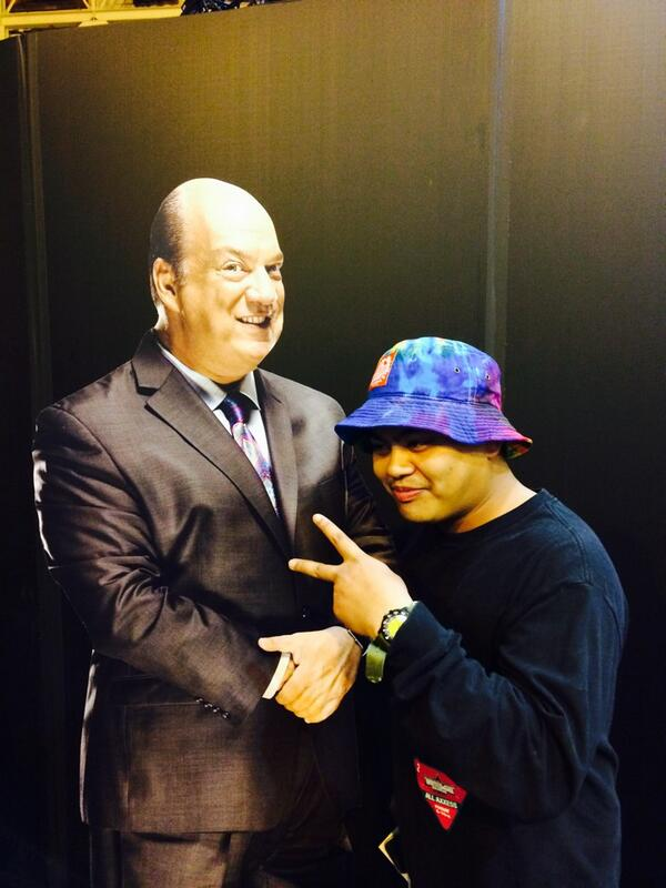 The award for the funniest cardboard cutout goes to @HeymanHustle http://t.co/Vui5hUJ1QR