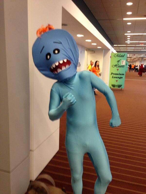 Mr. meeseeks cosplay