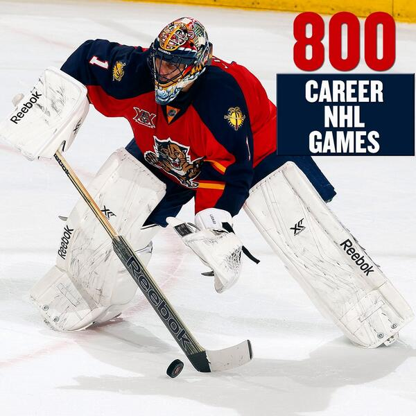 Florida Panthers On Twitter Today Roberto Luongo Is Playing In His