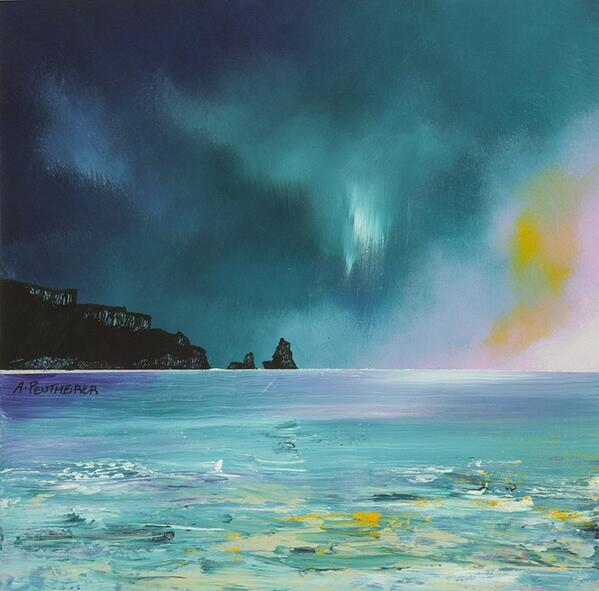 Approaching Talisker Bay, Isle Of Sky... by Andrew Peutherer via @artfinder http://t.co/tVqpElauTC https://t.co/o6TaJf9TbF