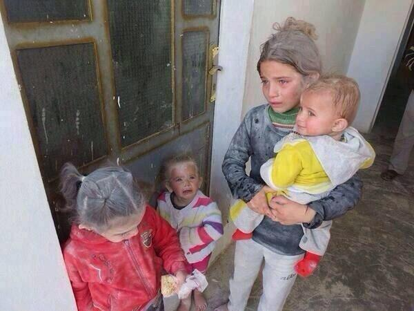 """ @SevenSyria  No one can feel them ? #Save_Syria #saveAleppo #Save_Aleppo http://t.co/ONjA334RQd """