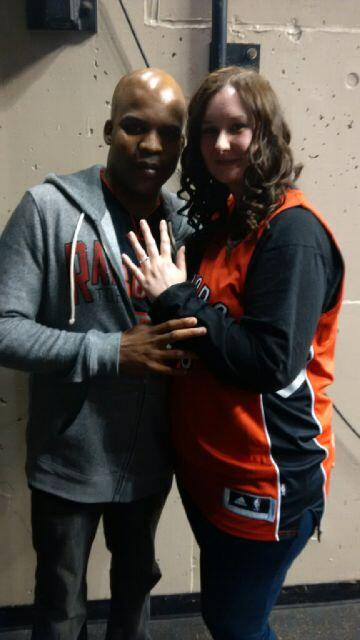 That 1st-half on-court marriage proposal: http://t.co/Ai7BAJzAx8 VERY glad Dawn said yes! #RTZ #Raptors http://t.co/LEXagbRJRI